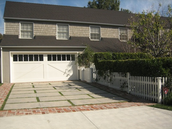 Los Angeles Landscaped Edge Driveway Services
